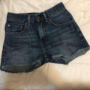 Vintage Levi's 505 denim shorts